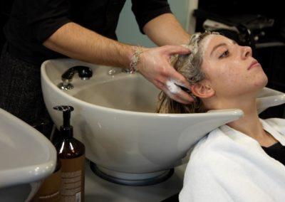 lavaggio capelli imarloo parrucchieri mestre